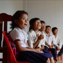 Cambodia: Support in an English language school for older children up to university