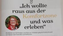 Granny Ingrid auf der Titelseite