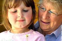 Newsletter Grannies - Age brings serenity