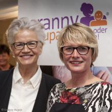 Model Greta Silver empfiehlt Granny Aupair in der NDR Talkshow